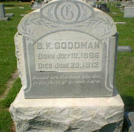 GOODMAN, B.K. - Craighead County, Arkansas | B.K. GOODMAN - Arkansas Gravestone Photos