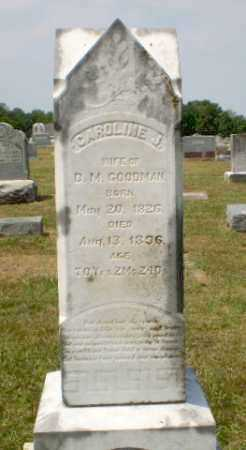 GOODMAN, CAROLINE J - Craighead County, Arkansas | CAROLINE J GOODMAN - Arkansas Gravestone Photos