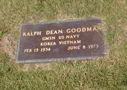 GOODMAN (VETERAN 2 WARS), RALPH DEAN - Craighead County, Arkansas | RALPH DEAN GOODMAN (VETERAN 2 WARS) - Arkansas Gravestone Photos