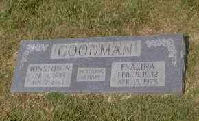 GOODMAN, EVALINA - Craighead County, Arkansas | EVALINA GOODMAN - Arkansas Gravestone Photos