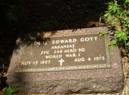GOTT  (VETERAN WWI), LOUIS EDWARD - Craighead County, Arkansas | LOUIS EDWARD GOTT  (VETERAN WWI) - Arkansas Gravestone Photos