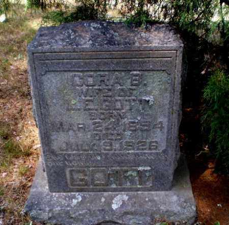 GOTT, CORA E - Craighead County, Arkansas | CORA E GOTT - Arkansas Gravestone Photos