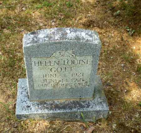 GOTT, HELEN LOUISE - Craighead County, Arkansas | HELEN LOUISE GOTT - Arkansas Gravestone Photos