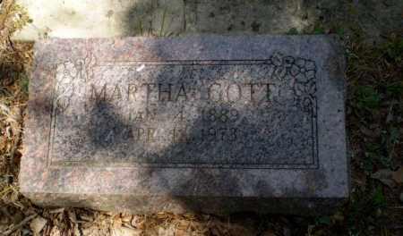 GOTT, MARTHA - Craighead County, Arkansas   MARTHA GOTT - Arkansas Gravestone Photos