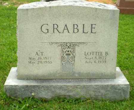 GRABLE, LOTTIE B - Craighead County, Arkansas | LOTTIE B GRABLE - Arkansas Gravestone Photos