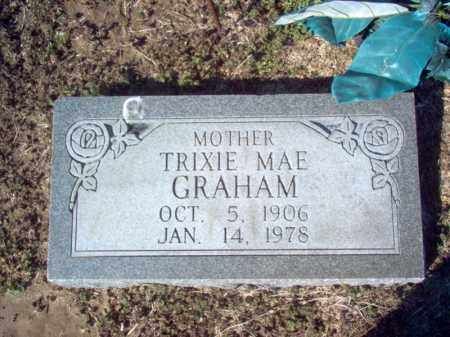 GRAHAM, TRIXIE MAE - Craighead County, Arkansas | TRIXIE MAE GRAHAM - Arkansas Gravestone Photos