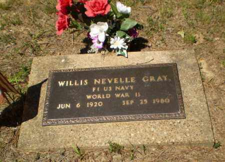 GRAY  (VETERAN WWII), WILLIS NEVELLE - Craighead County, Arkansas | WILLIS NEVELLE GRAY  (VETERAN WWII) - Arkansas Gravestone Photos