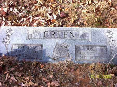 GREEN, JOSIE - Craighead County, Arkansas | JOSIE GREEN - Arkansas Gravestone Photos