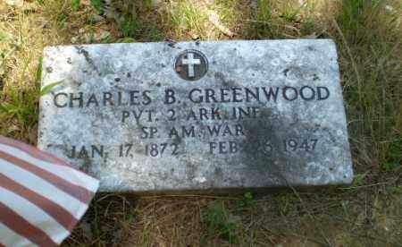GREENWOOD  (VETERAN SAW), CHARLES B - Craighead County, Arkansas | CHARLES B GREENWOOD  (VETERAN SAW) - Arkansas Gravestone Photos