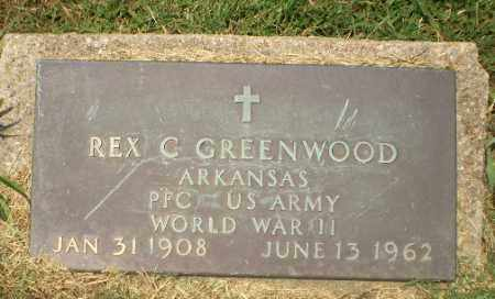 GREENWOOD  (VETERAN WWII), REX C - Craighead County, Arkansas | REX C GREENWOOD  (VETERAN WWII) - Arkansas Gravestone Photos