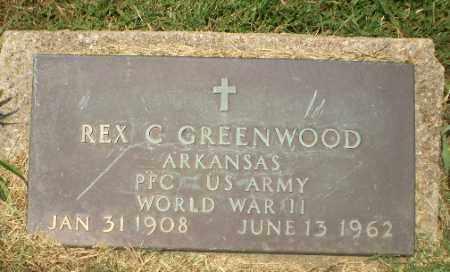 GREENWOOD  (VETERAN WWII), REX C - Craighead County, Arkansas   REX C GREENWOOD  (VETERAN WWII) - Arkansas Gravestone Photos