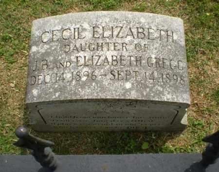 GREGG, CECIL ELIZABETH - Craighead County, Arkansas | CECIL ELIZABETH GREGG - Arkansas Gravestone Photos