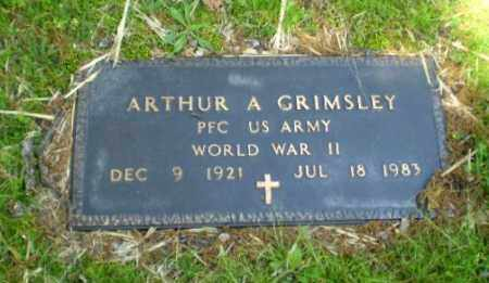 GRIMSLEY  (VETERAN WWII), ARTHUR - Craighead County, Arkansas | ARTHUR GRIMSLEY  (VETERAN WWII) - Arkansas Gravestone Photos