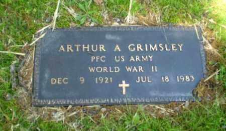 GRIMSLEY  (VETERAN WWII), ARTHUR - Craighead County, Arkansas | ARTHUR GRIMSLEY  (VETERAN WWII) - Arkansas Gravestone Photos