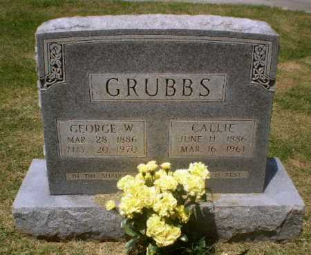 GRUBBS, CALLIE - Craighead County, Arkansas | CALLIE GRUBBS - Arkansas Gravestone Photos
