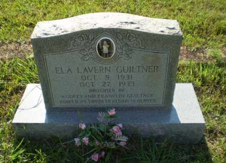 GUILTNER, ELA LAVERN - Craighead County, Arkansas | ELA LAVERN GUILTNER - Arkansas Gravestone Photos