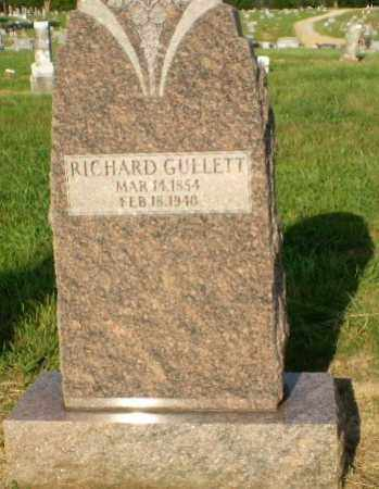 GULLETT, RICHARD - Craighead County, Arkansas | RICHARD GULLETT - Arkansas Gravestone Photos