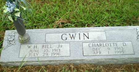 GWIN, CHARLOTTE D - Craighead County, Arkansas | CHARLOTTE D GWIN - Arkansas Gravestone Photos