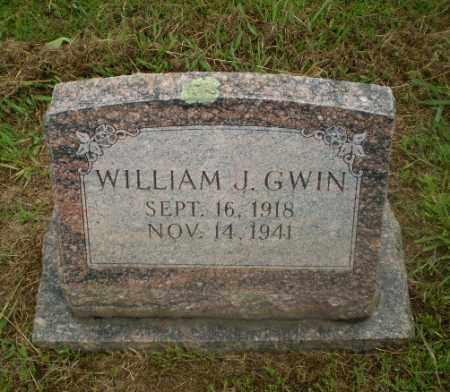 GWIN, WILLIAM J - Craighead County, Arkansas | WILLIAM J GWIN - Arkansas Gravestone Photos