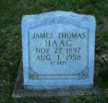 HAAG, JAMES THOMAS - Craighead County, Arkansas | JAMES THOMAS HAAG - Arkansas Gravestone Photos