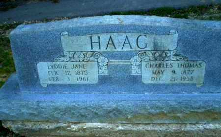 HAAG, LYDDIE JANE - Craighead County, Arkansas | LYDDIE JANE HAAG - Arkansas Gravestone Photos