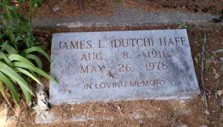 "HAFF, JAMES L ""DUTCH"" - Craighead County, Arkansas 