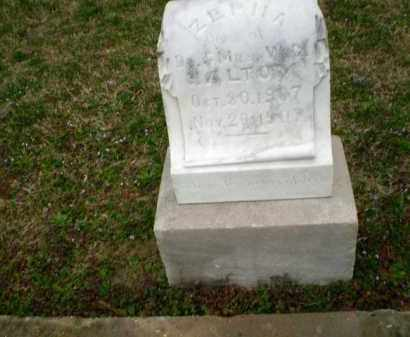 HALTOM, ZEPHA - Craighead County, Arkansas | ZEPHA HALTOM - Arkansas Gravestone Photos