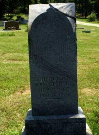 HAMILTON (VETERAN), CHARLES T - Craighead County, Arkansas | CHARLES T HAMILTON (VETERAN) - Arkansas Gravestone Photos