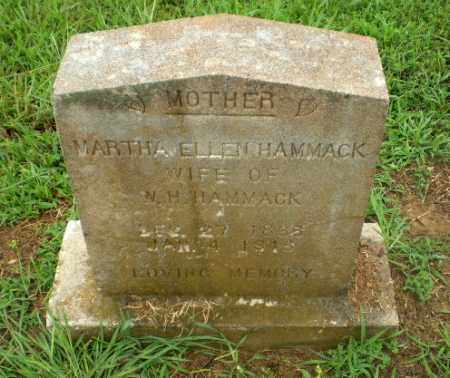 HAMMACK, MARTHA ELLEN - Craighead County, Arkansas | MARTHA ELLEN HAMMACK - Arkansas Gravestone Photos