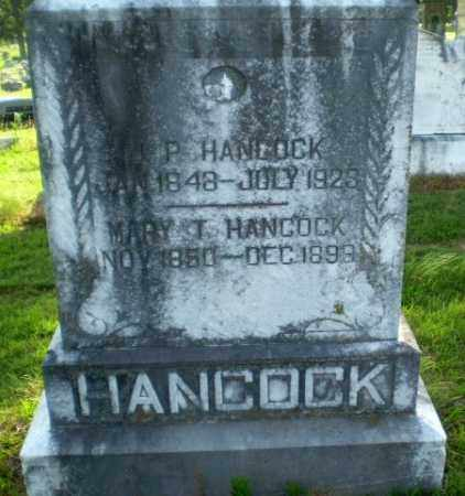 HANCOCK, J.P. - Craighead County, Arkansas | J.P. HANCOCK - Arkansas Gravestone Photos
