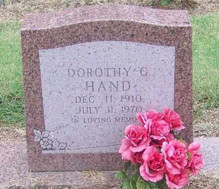HAND, DOROTHY G. - Craighead County, Arkansas | DOROTHY G. HAND - Arkansas Gravestone Photos
