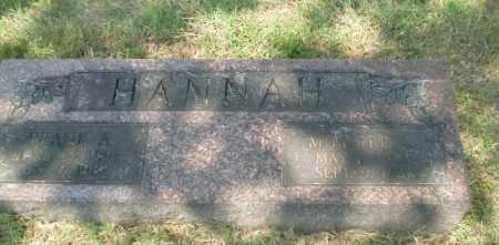 HANNAH, MILDRED C - Craighead County, Arkansas | MILDRED C HANNAH - Arkansas Gravestone Photos