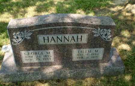 HANNAH, LILLIE M - Craighead County, Arkansas | LILLIE M HANNAH - Arkansas Gravestone Photos