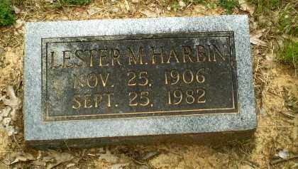 HARBIN, LESTER M - Craighead County, Arkansas | LESTER M HARBIN - Arkansas Gravestone Photos