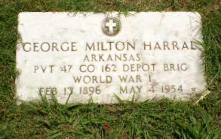 HARRAL  (VETERAN WWI), GEORGE MILTON - Craighead County, Arkansas | GEORGE MILTON HARRAL  (VETERAN WWI) - Arkansas Gravestone Photos