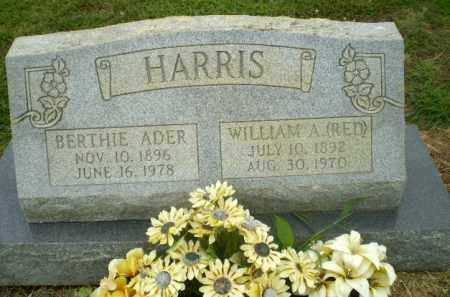 HARRIS, BERTHIE ADER - Craighead County, Arkansas | BERTHIE ADER HARRIS - Arkansas Gravestone Photos