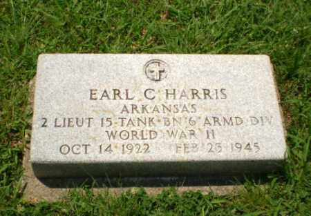 HARRIS (VETERAN WWII), EARL C - Craighead County, Arkansas | EARL C HARRIS (VETERAN WWII) - Arkansas Gravestone Photos