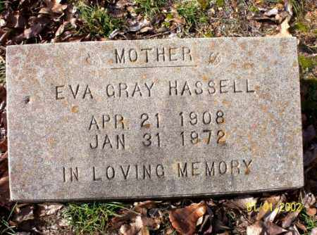 HASSEL, EVA  GRAY - Craighead County, Arkansas | EVA  GRAY HASSEL - Arkansas Gravestone Photos