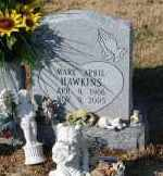 HAWKINS, MARY APRIL - Craighead County, Arkansas | MARY APRIL HAWKINS - Arkansas Gravestone Photos