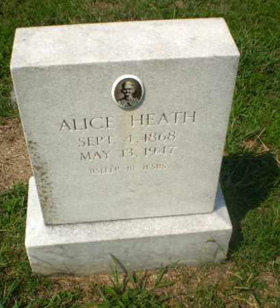HEATH, ALICE - Craighead County, Arkansas | ALICE HEATH - Arkansas Gravestone Photos
