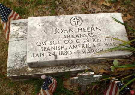 HEERN   (VETERAN SAW), JOHN - Craighead County, Arkansas | JOHN HEERN   (VETERAN SAW) - Arkansas Gravestone Photos