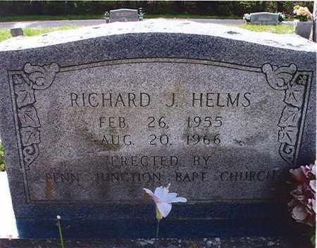 HELMS, RICHARD JAMES - Craighead County, Arkansas | RICHARD JAMES HELMS - Arkansas Gravestone Photos