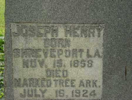 HENRY, JOSEPH - Craighead County, Arkansas | JOSEPH HENRY - Arkansas Gravestone Photos