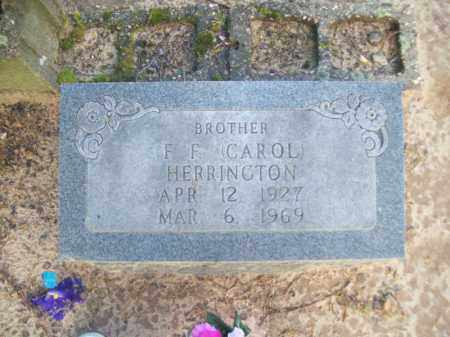 HERRINGTON, F. F. CAROL - Craighead County, Arkansas | F. F. CAROL HERRINGTON - Arkansas Gravestone Photos