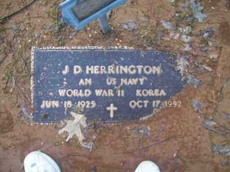 HERRINGTON (VETERAN 2 WARS), J. D. - Craighead County, Arkansas | J. D. HERRINGTON (VETERAN 2 WARS) - Arkansas Gravestone Photos