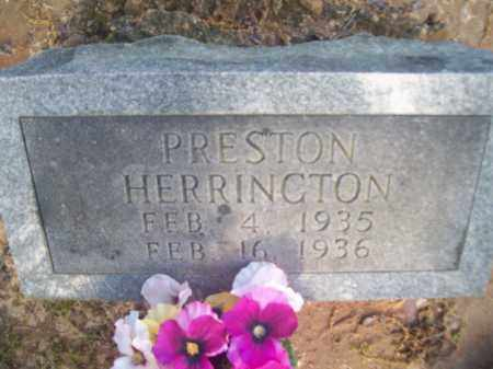 HERRINGTON, PRESTON - Craighead County, Arkansas | PRESTON HERRINGTON - Arkansas Gravestone Photos