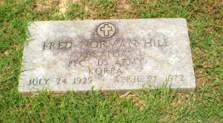 HILL  (VETERAN KOR), FRED NORMAN - Craighead County, Arkansas | FRED NORMAN HILL  (VETERAN KOR) - Arkansas Gravestone Photos