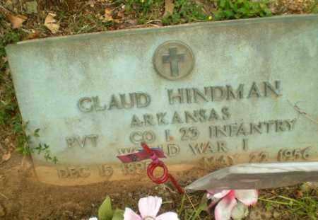 HINDMAN  (VETERAN WWI), CLAUD - Craighead County, Arkansas | CLAUD HINDMAN  (VETERAN WWI) - Arkansas Gravestone Photos