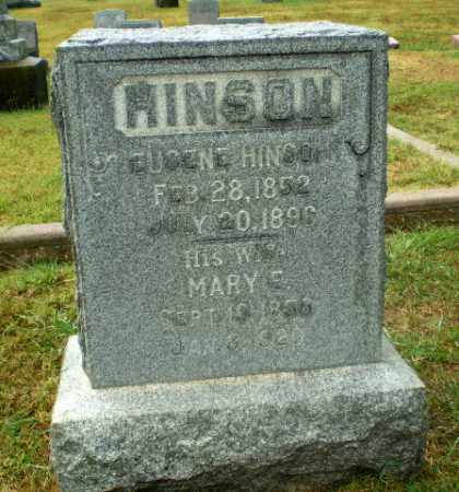 HINSON, MARY E - Craighead County, Arkansas | MARY E HINSON - Arkansas Gravestone Photos