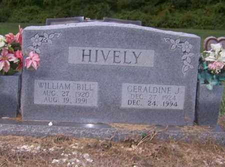 HIVELY, GERALDINE J. - Craighead County, Arkansas | GERALDINE J. HIVELY - Arkansas Gravestone Photos